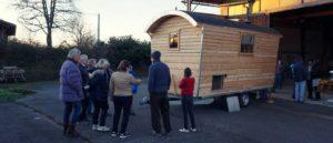 Inauguration cabane pastorale mobile